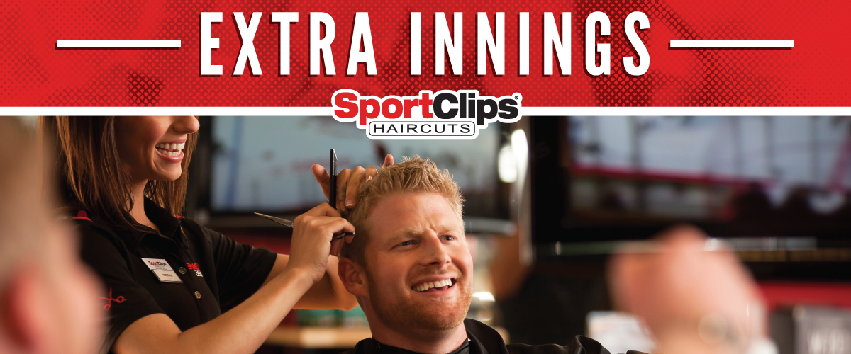 The Sport Clips Haircuts of Carmel - 146th Street Extra Innings Offerings