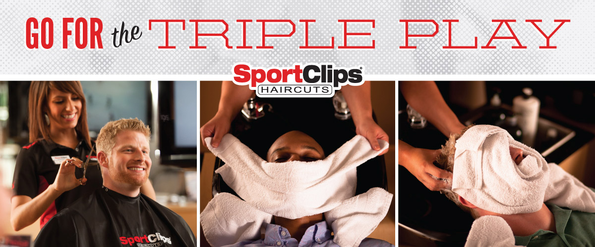 The Sport Clips Haircuts of Carmel - 146th Street Triple Play